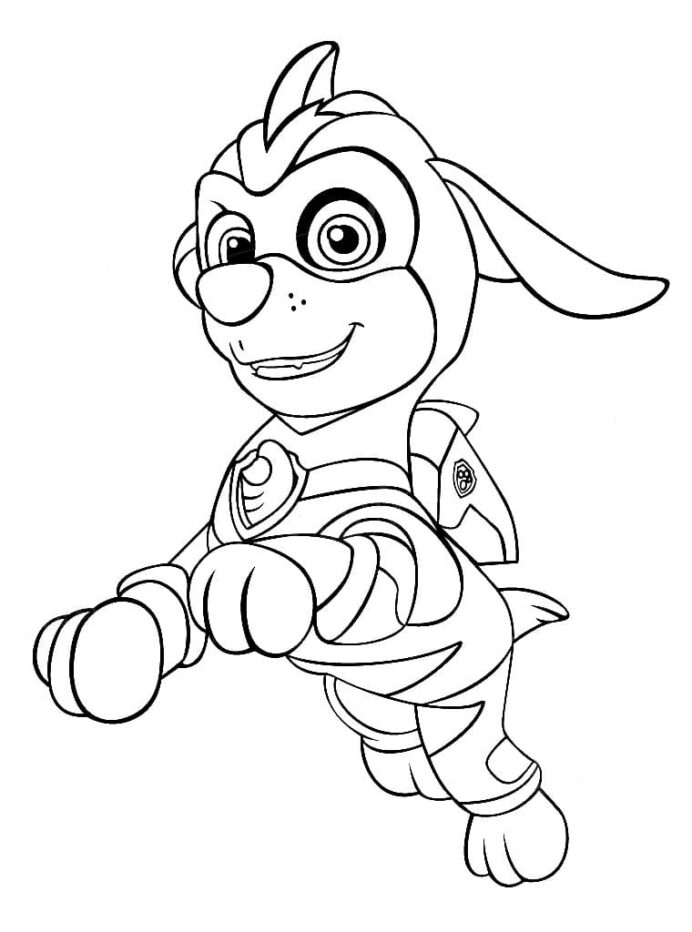 paw patrol coloring best for kids zuma wonder dragon pictures to color stars in pencil coloring pages Zuma Paw Patrol Coloring Page