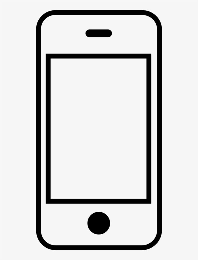 peachy design iphone coloring ultra printable outline of phone transparent 1000x1000 free coloring pages Phone Coloring Page