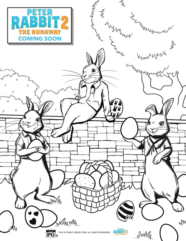 peter rabbit the runaway free activity coloring sheets updated pr2 coloringpage intl coloring pages Peter Rabbit Coloring Page
