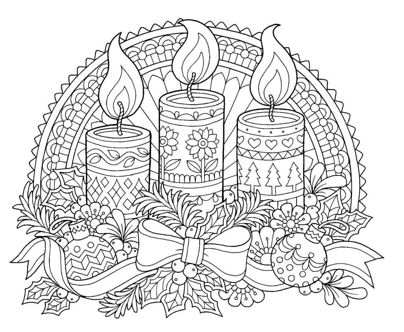 pin by christine on colouring for adults christmas coloring sheets free printable adult coloring pages Christmas Coloring Page Adult
