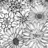 pin on crafts ideas for adults only floral coloring does coin rubbing work kids food coloring pages Floral Coloring Page