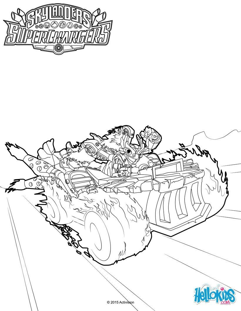 pin on skylanders superchargers coloring solider sheets easter egg printable images coloring pages Skylanders Superchargers Coloring Page