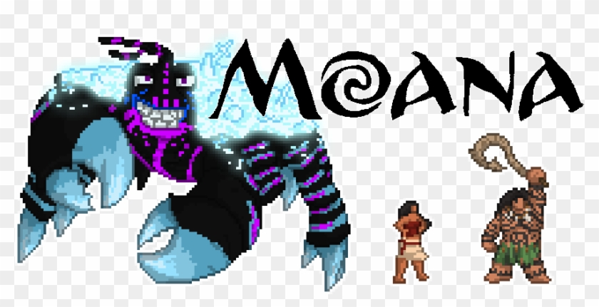 pixel moana mermaid coloring clipart pikpng tamatoa house crayon silhouette clothing glue coloring pages Tamatoa Coloring Page
