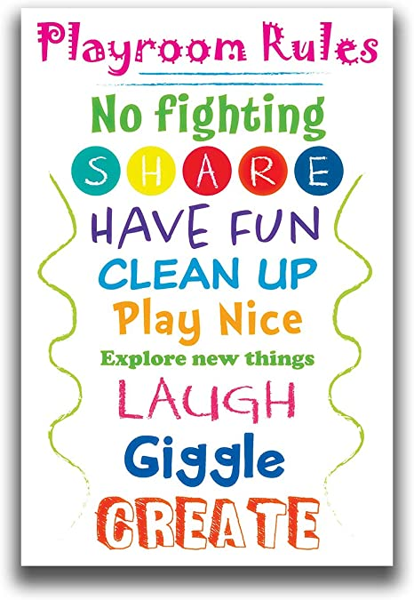playroom rules poster instant digital wall décor home deshpandefoundationindia org free coloring pages Playroom Rules Free Printable