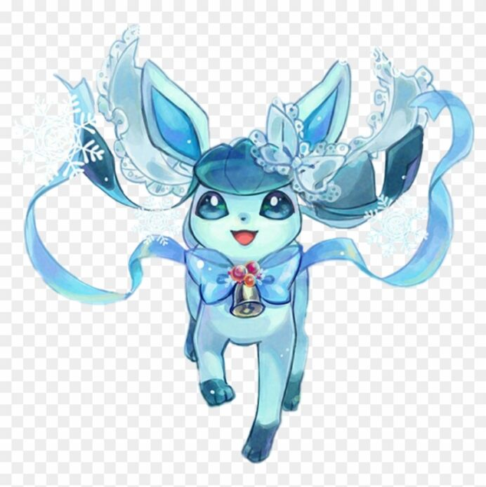 pokemon eevee glaceon hd 1024x979 pngfind coloring print and play blank dice showdow box coloring pages Glaceon Coloring Page