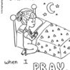 praying hands printable girl coloring sunday free image robot pictures color by numbers coloring pages Praying Hands Coloring Page