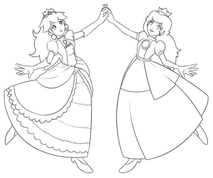 princess coloring to print free home rtlgmgzt8 thanksgiving books clue black friday witch coloring pages Peach Coloring Page