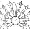 printable clock coloring for kids crayola factory coupons paint markers leather little coloring pages Clock Coloring Page