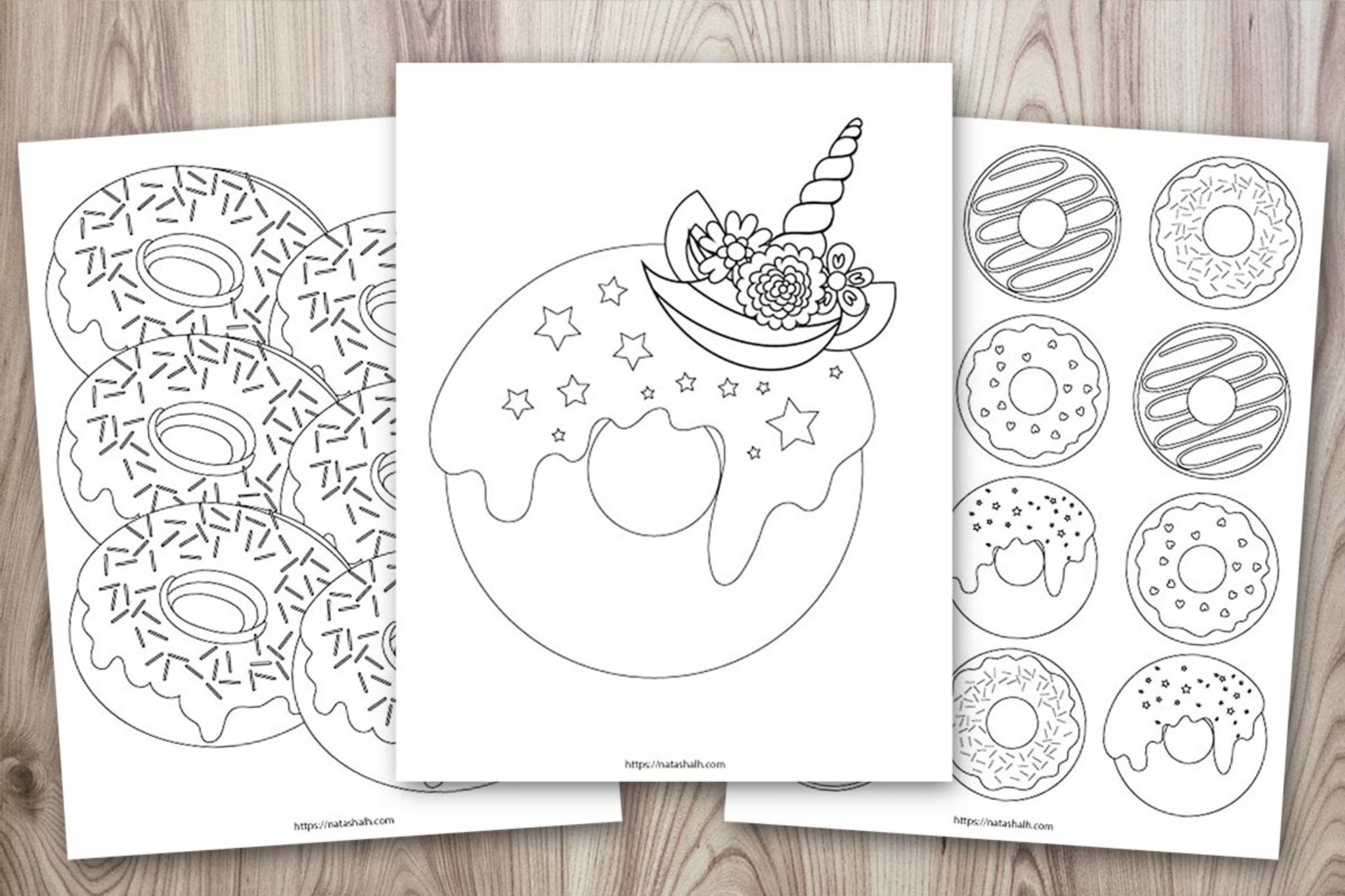 printable doughnut coloring the artisan life original 1024x1024 2x handprint turkety coloring pages Doughnut Coloring Page