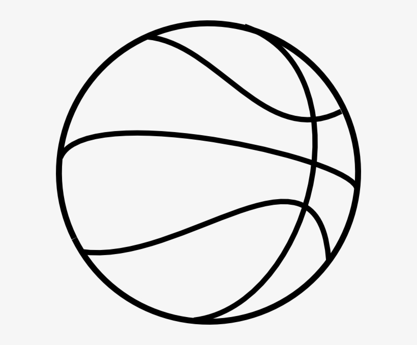 printable free basketball coloring clip art black and 600x599 pngkit sports christmas coloring pages Free Printable Sports Clip Art