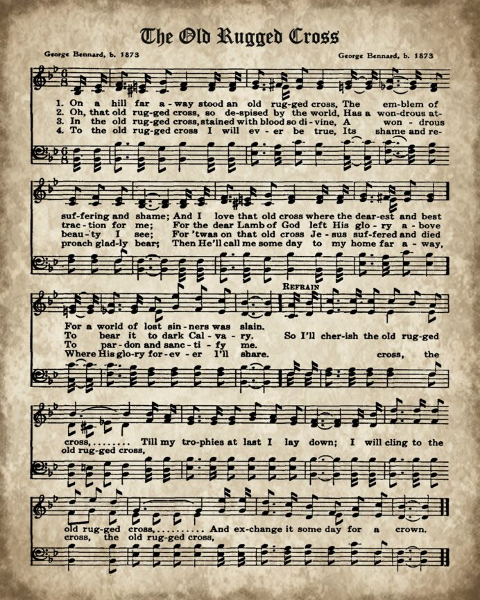 printable hymn book the old rugged knick of time free hymns birthday pictures to color coloring pages Free Printable Hymns