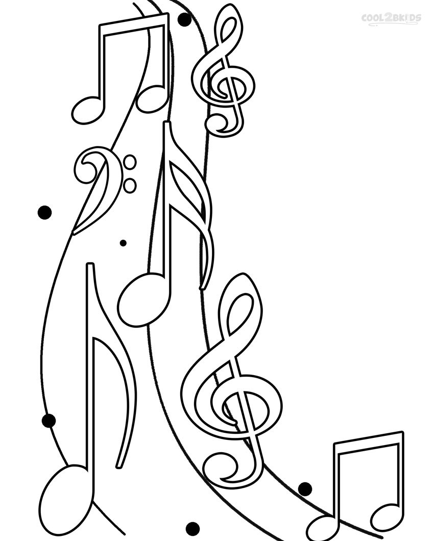 printable music note coloring for kids musical of solid liquid gas activities best paper coloring pages Musical Note Coloring Page