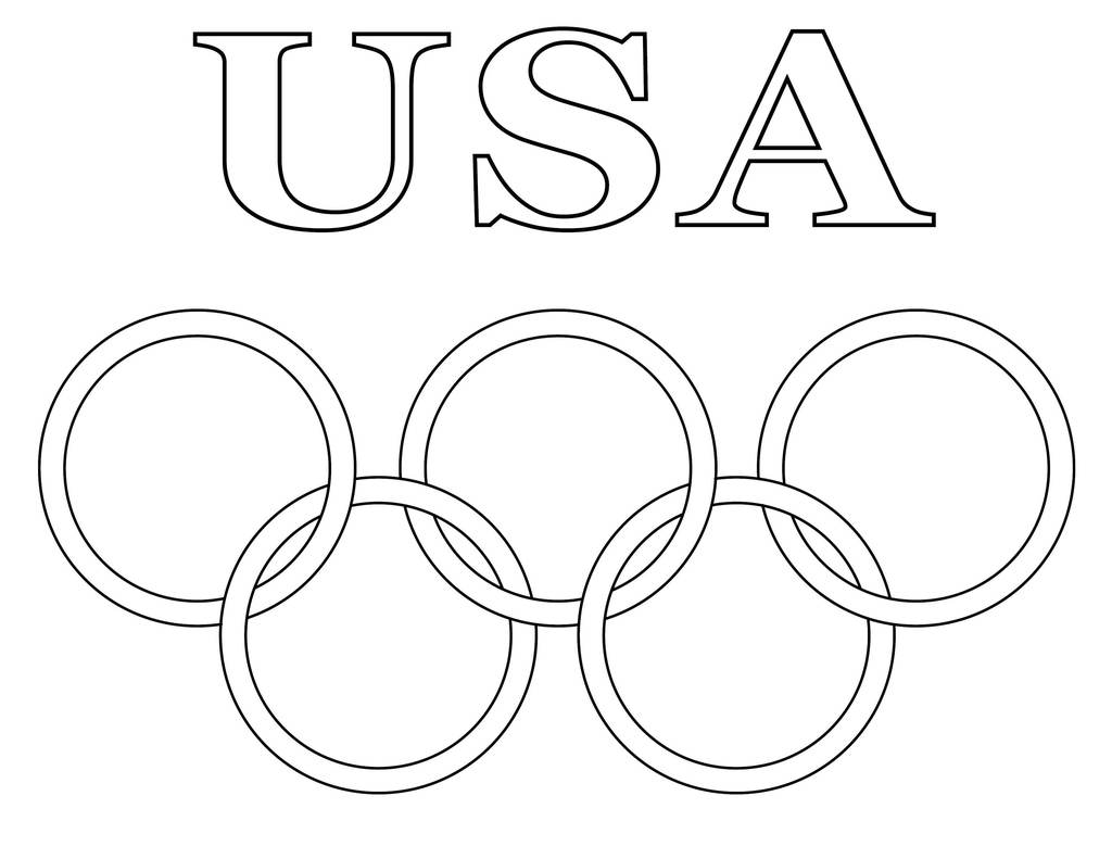 printable olympic coloring supplyme 20ring 20usa 20coloring 20page no 20key 1024x1024 coloring pages Olympic Coloring Page