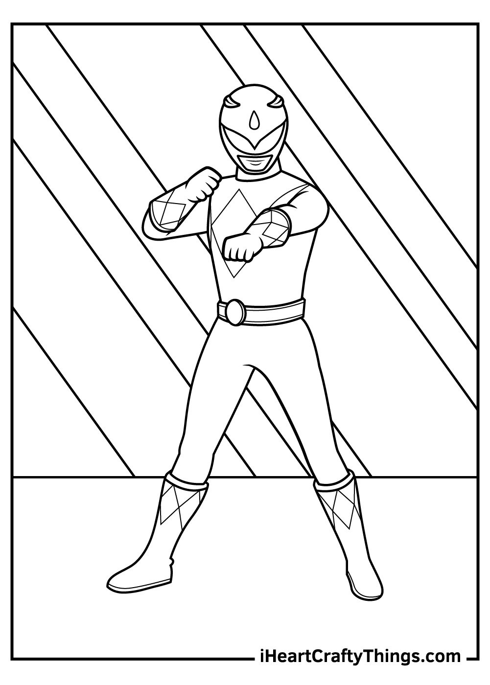 printable rangers coloring updated red ranger lionel gauge washable acrylic paint star coloring pages Red Power Ranger Coloring Page