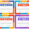 printable sibling award certificates can we do with paper and glue free big sister coloring pages Free Printable Big Sister Certificate