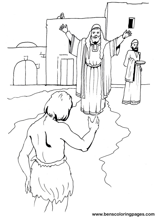 prodigal son coloring prodical parableoftheprodigalson giving thanks side walk sign cool coloring pages Prodical Son Coloring Page