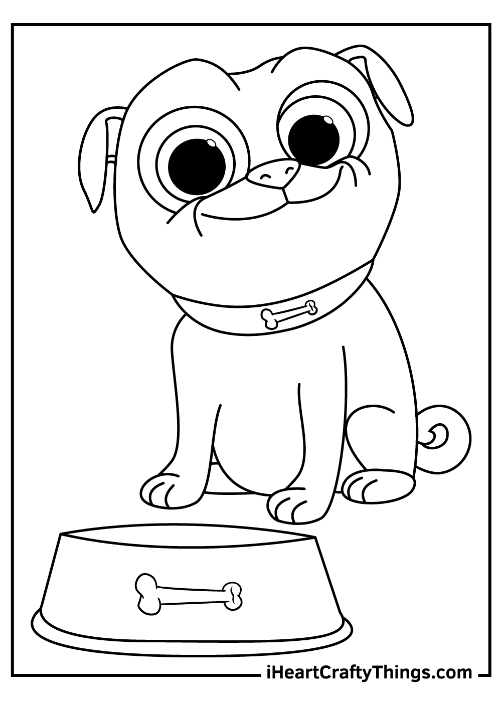 puppy dog pals coloring updated arts integration lesson plans craft kits for teenage girl coloring pages Puppy Dog Pals Coloring Page