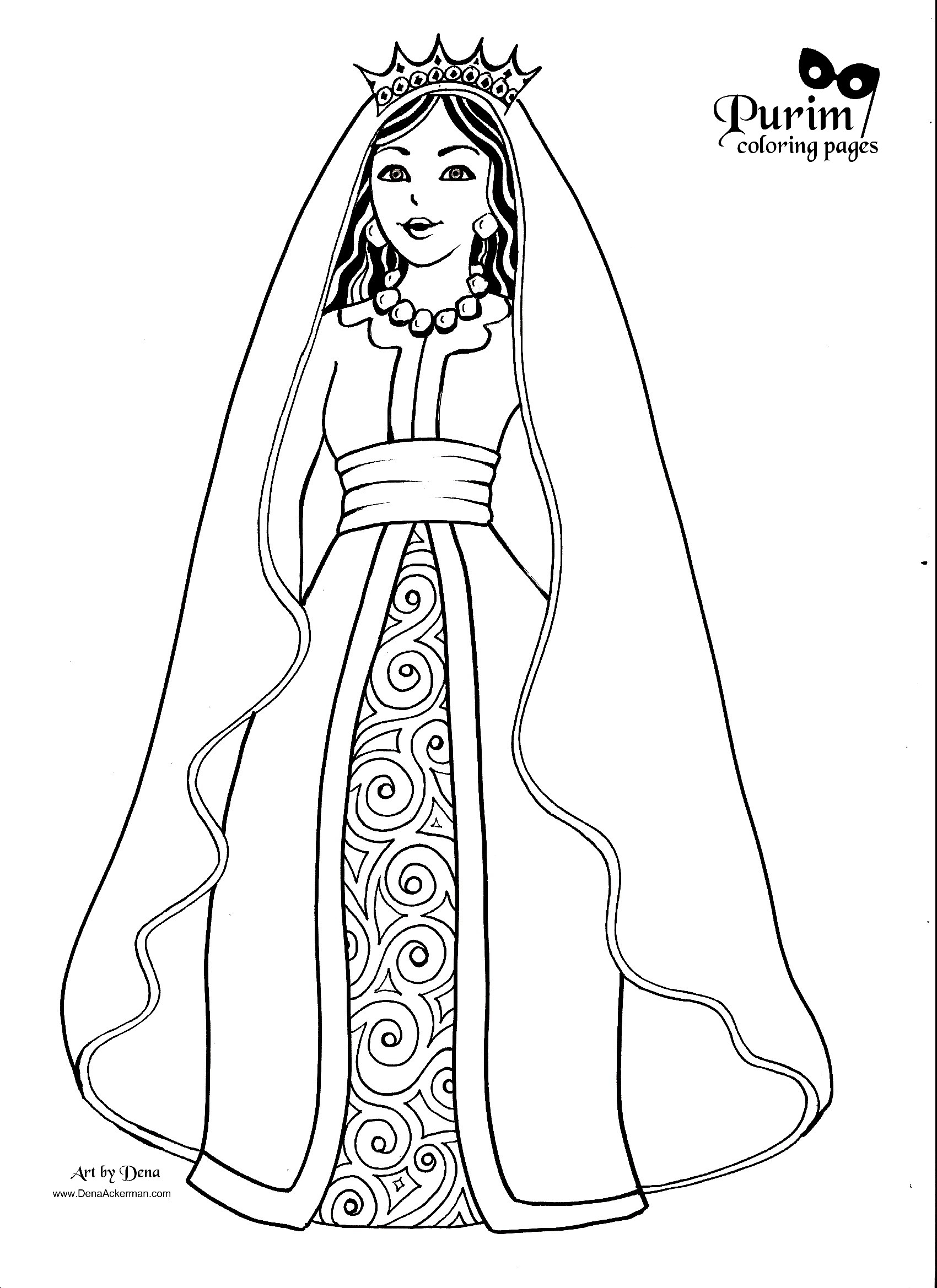 queen characters printable coloring kid craft kits pj mask star wars ship thanksgiving coloring pages Queen Coloring Page