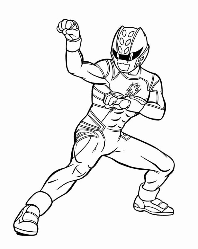 ranger art reference blue coloring free flowers capital in cursive halloween printouts coloring pages Blue Power Ranger Coloring Page