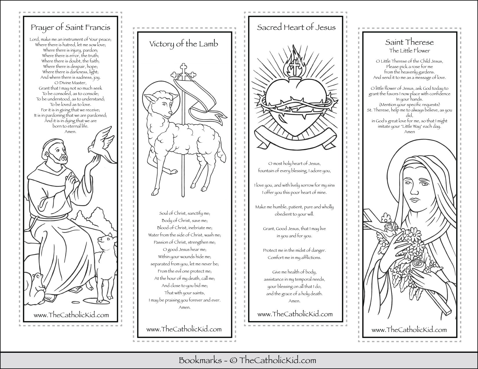 sampler pack thecatholickid can obedient coloring printable catholic bookmarks cnt mls coloring pages I Can Be Obedient Coloring Page