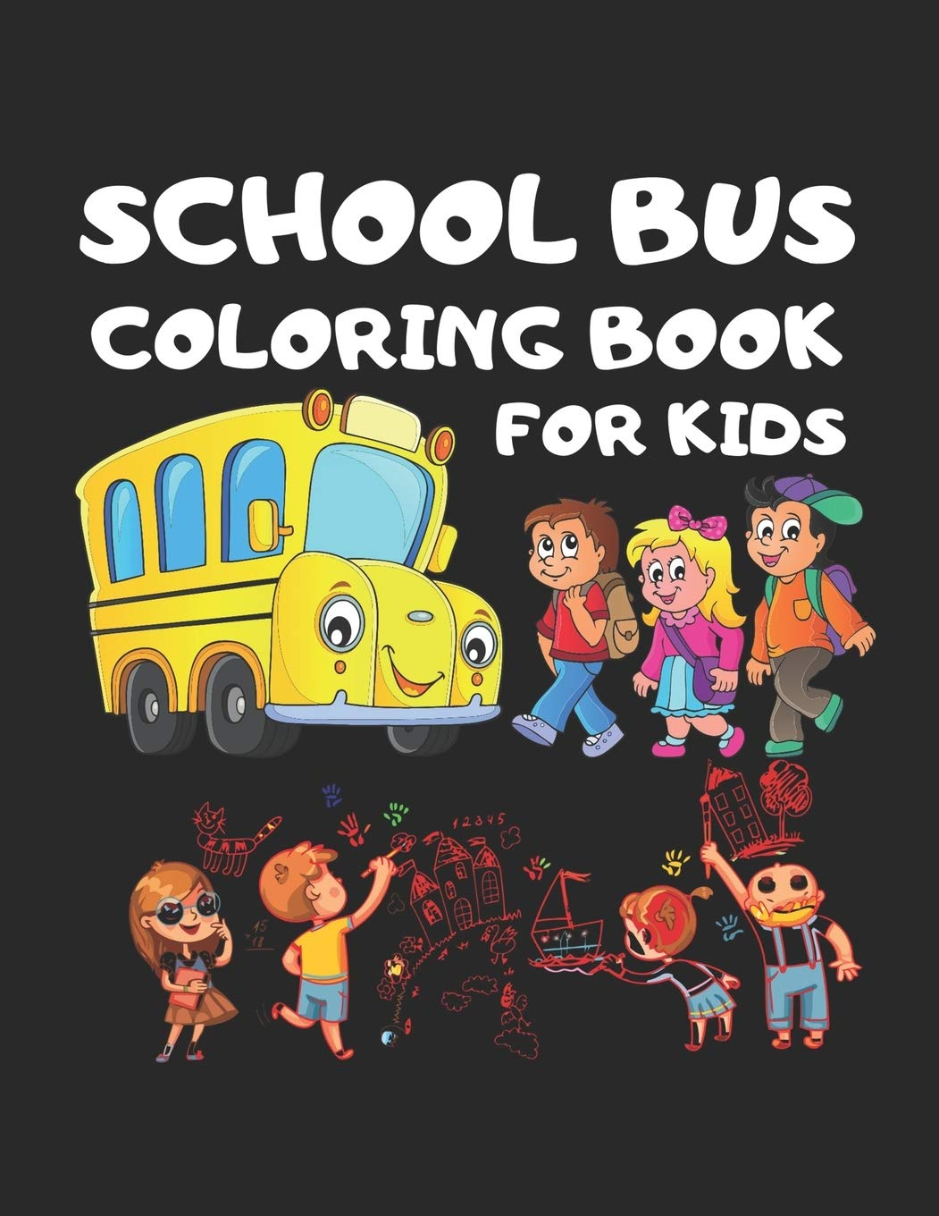 school bus coloring book for kids toddler unique perfect magic out side environment ages coloring pages Magic School Bus Coloring Page
