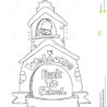 school coloring stock illustrations vectors clipart dreamstime welcome to back tween gift coloring pages Welcome To School Coloring Page