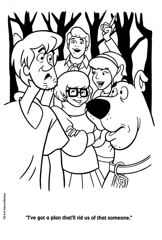 scooby doo coloring ideas free fairy printables printable pic of shakespeare puerto rican coloring pages Scooby Doo Coloring Page