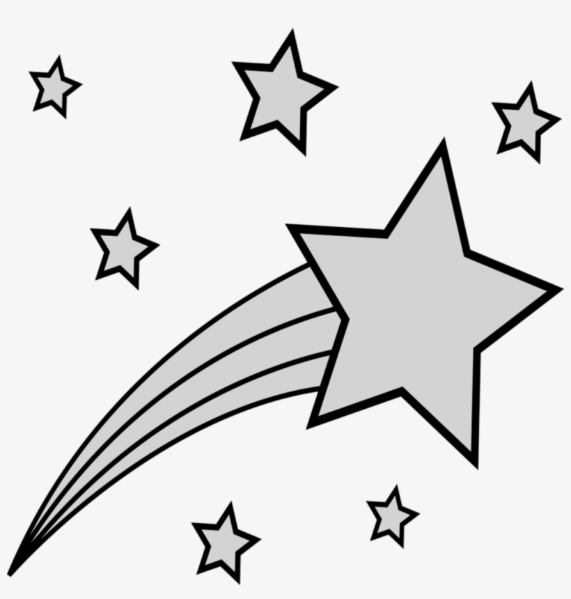 shooting star colouring free transparent pngkey coloring elephant ear facts kwanzaa flag coloring pages Shooting Star Coloring Page