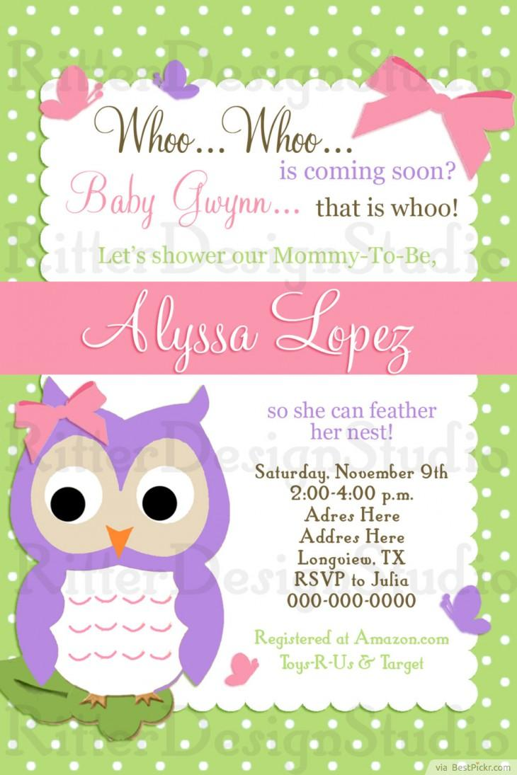 smart owl baby shower invitations printables ideas for kids party bestpickr free coloring pages Free Printable Owl Baby Shower Invitations