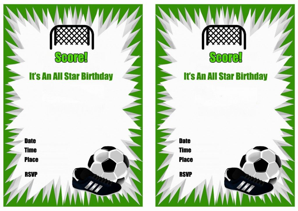 soccer birthday invitations printable invitation parties party free dragon coloring image coloring pages Free Printable Soccer Birthday Invitations