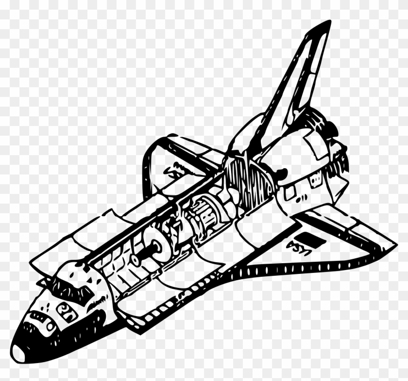 space shuttle coloring thermal rejection in free transparent clipart images christmas for coloring pages Space Shuttle Coloring Page