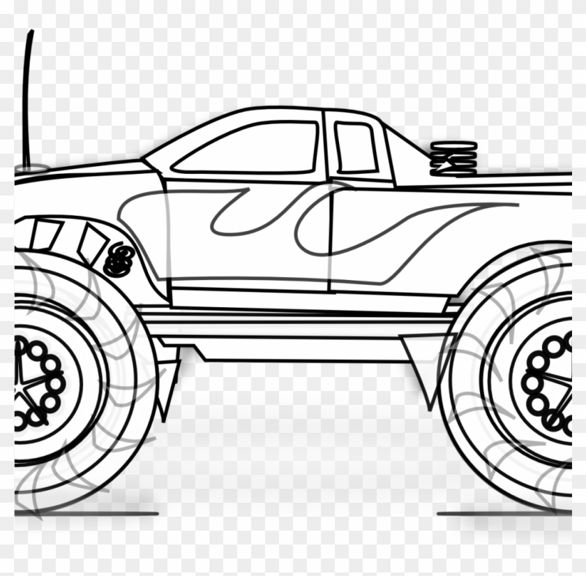 spectacular monster trucks coloring truck clip art free transparent clipart images coloring pages Coloring Page Monster Truck