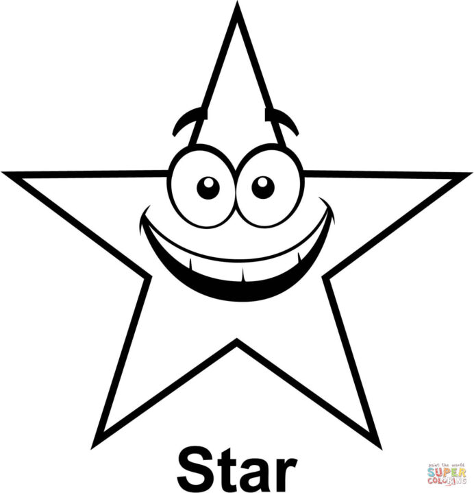star with coloring free printable stars adult birds rain sticks art project paper easter coloring pages Stars Coloring Page