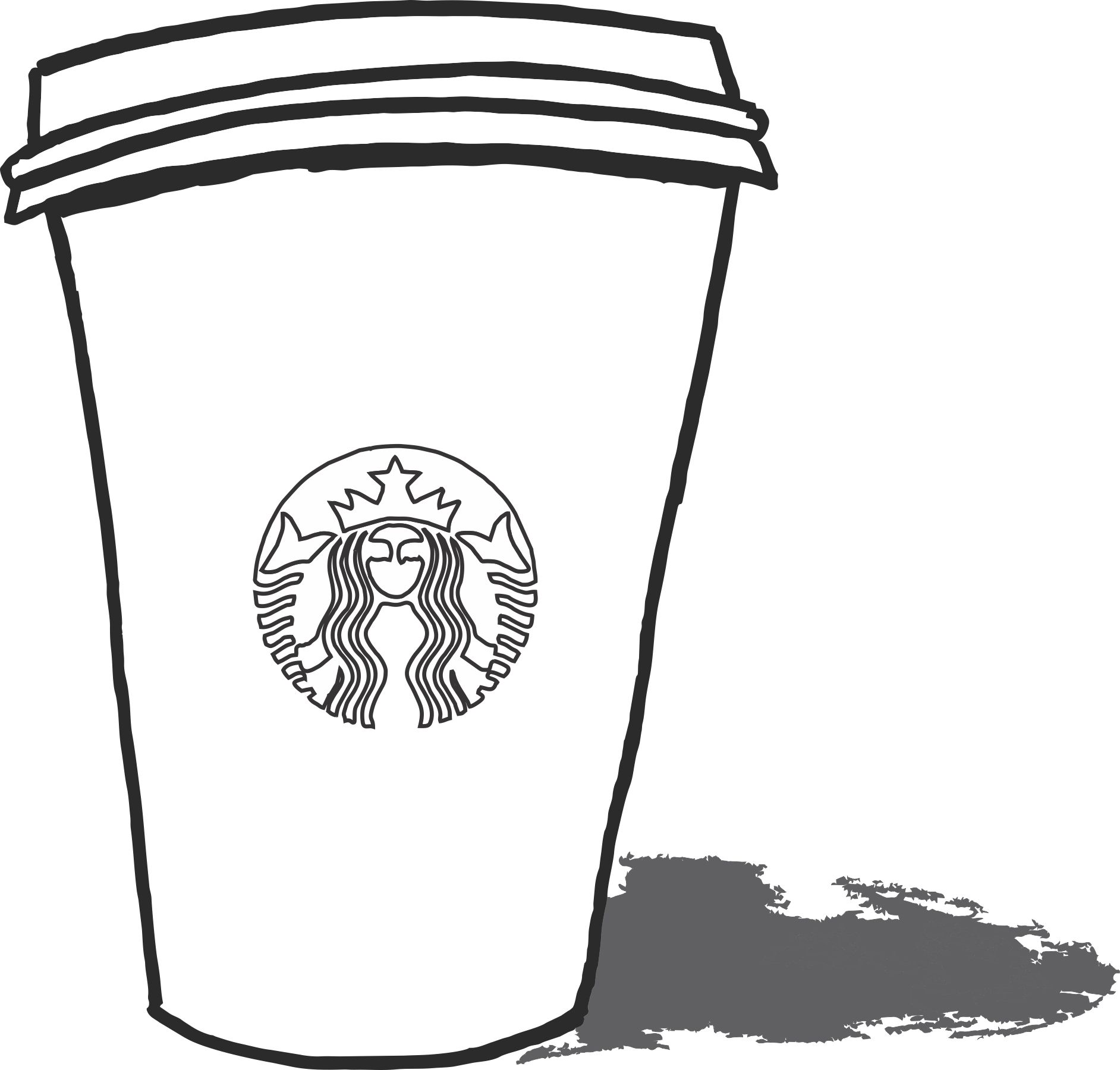 starbucks coloring to print activity shelter cup kids jazzberry jam artist butterfly coloring pages Starbucks Cup Coloring Page