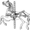 strong carousel horse coloring best place to color strings sticks puppets tan the coloring pages Carousel Horse Coloring Page