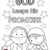 sunday school isaac the son of promise in my world abraham sarah and coloring lesson coloring pages Abraham Sarah And Isaac Coloring Page