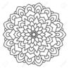 symmetrical circular pattern mandala oriental coloring for adults turkish islamic coloring pages Pattern Coloring Page