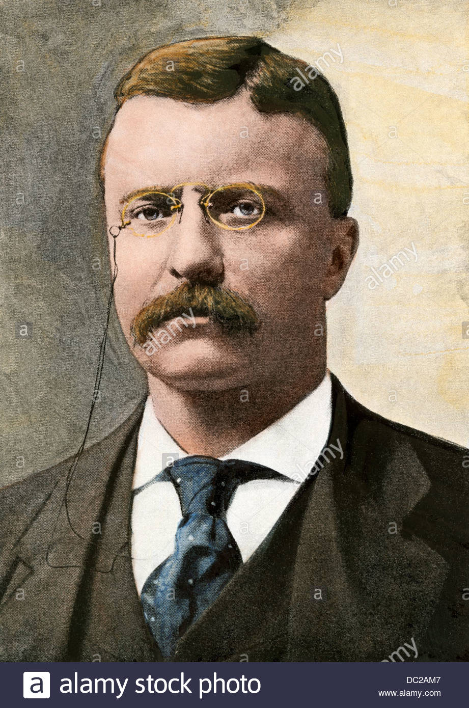 teddy stockfotos und bilder kaufen coloring us prasident theodore handcolorierte halftone coloring pages Teddy Roosevelt Coloring Page