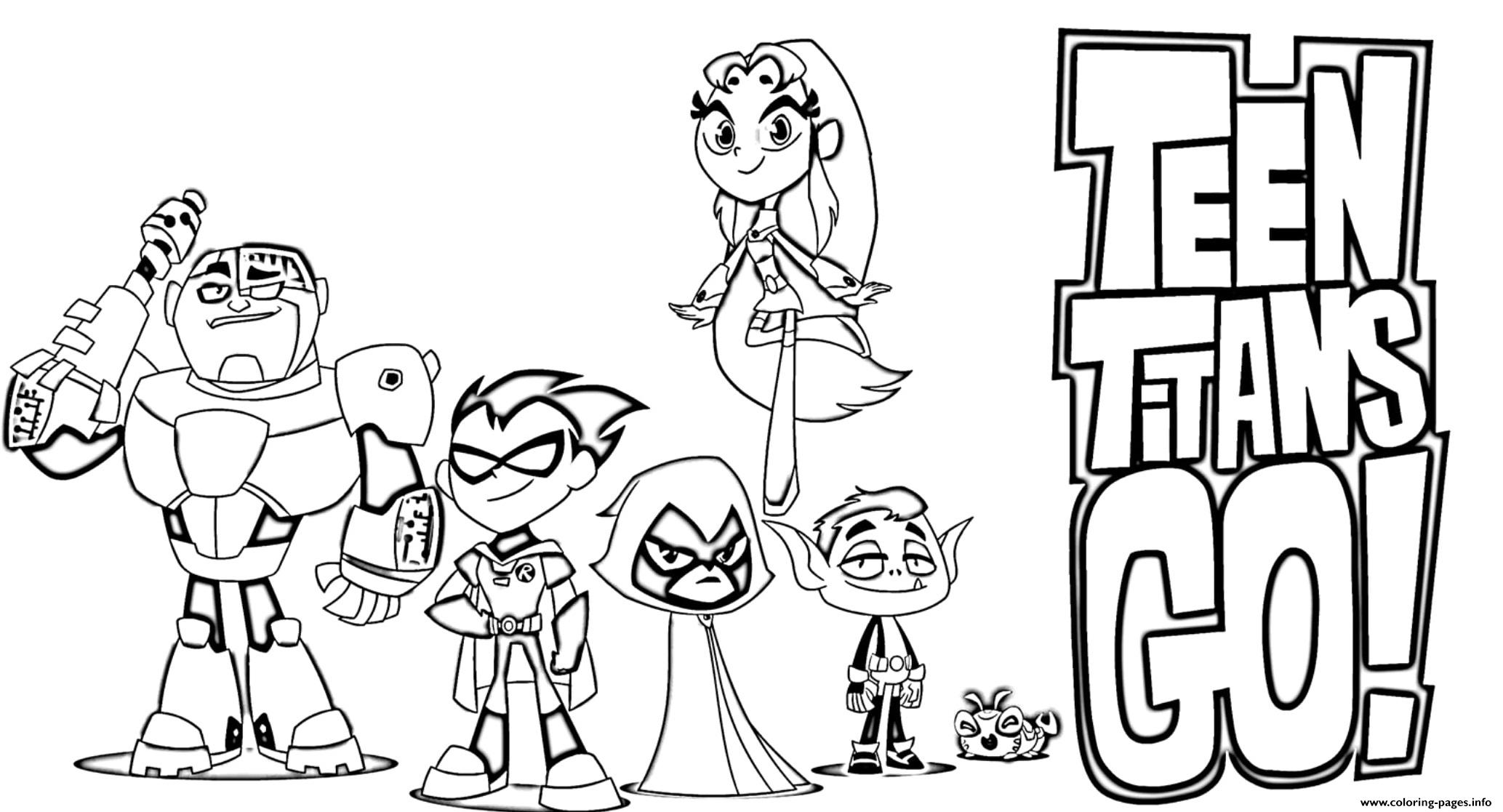 teen titans go coloring printable 1549992986teen highlighters pens owl pictures halloween coloring pages Teen Titans Coloring Page