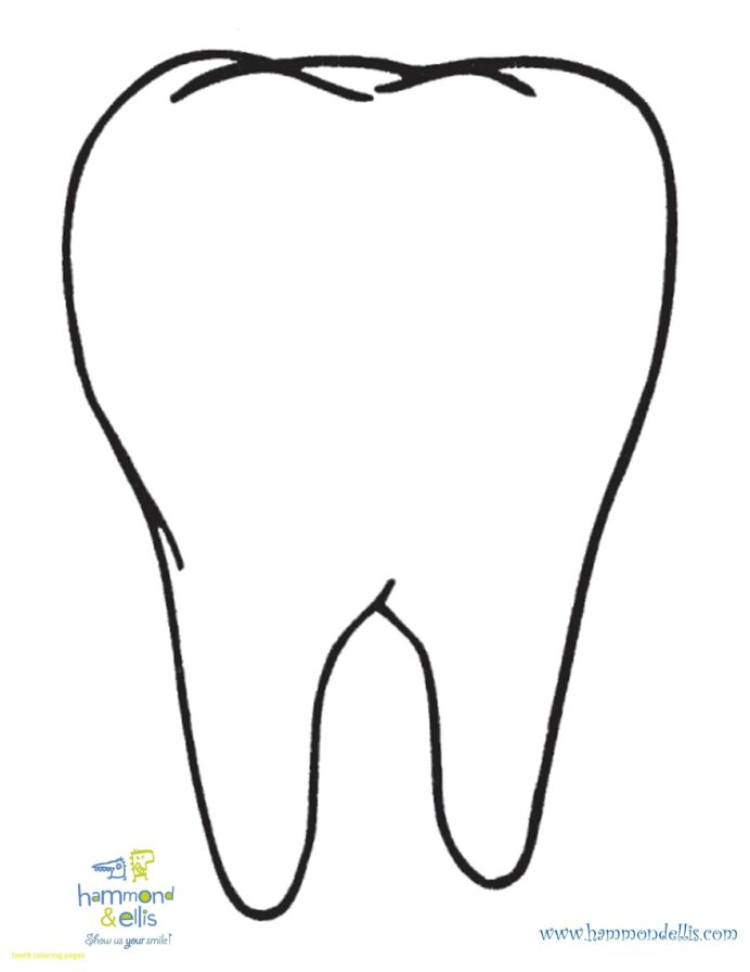 teeth coloring with lapes org inside free clipart pictures tooth boy printable mazes for coloring pages Tooth Coloring Page