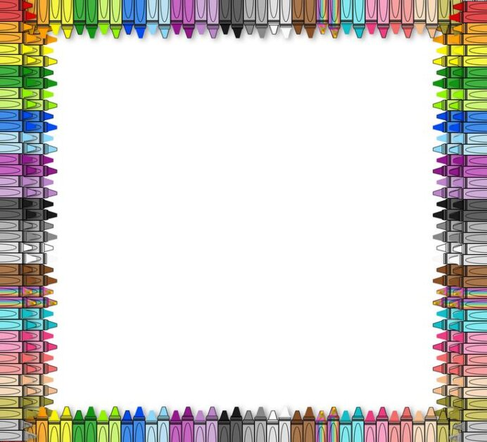 the 3am teacher printable border borders for paper free teachers crayons clipart cling coloring pages Free Printable Border Paper For Teachers