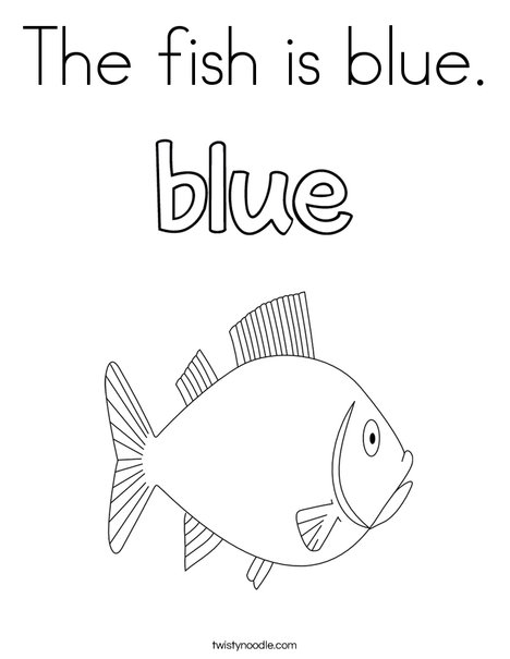 the fish is blue coloring twisty noodle 468x609 q85 world book printable clontinent coloring pages Blue Coloring Page