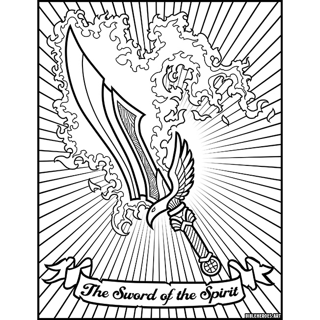 the heroes of bible coloring on behance stained watercolor fall objects to color minnie coloring pages Coloring Page Bible