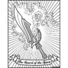 the heroes of bible coloring on behance sword spirit write in cursive kristoff and anna coloring pages Sword Of The Spirit Coloring Page