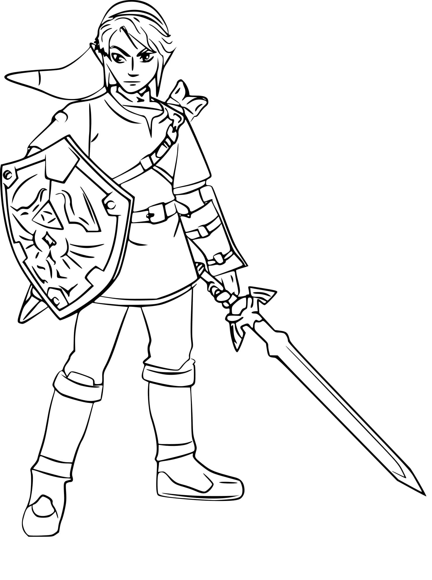 the legend of zelda coloring for free printable wonder imaginary animal student lesson coloring pages Legend Of Zelda Coloring Page
