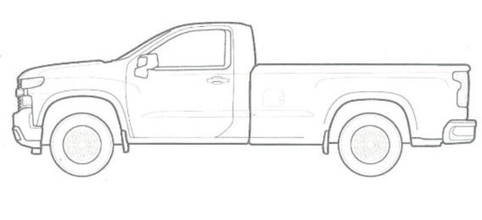 these chevrolet coloring are fun for the family gm authority chevy silverado reg school coloring pages Chevy Silverado Coloring Page