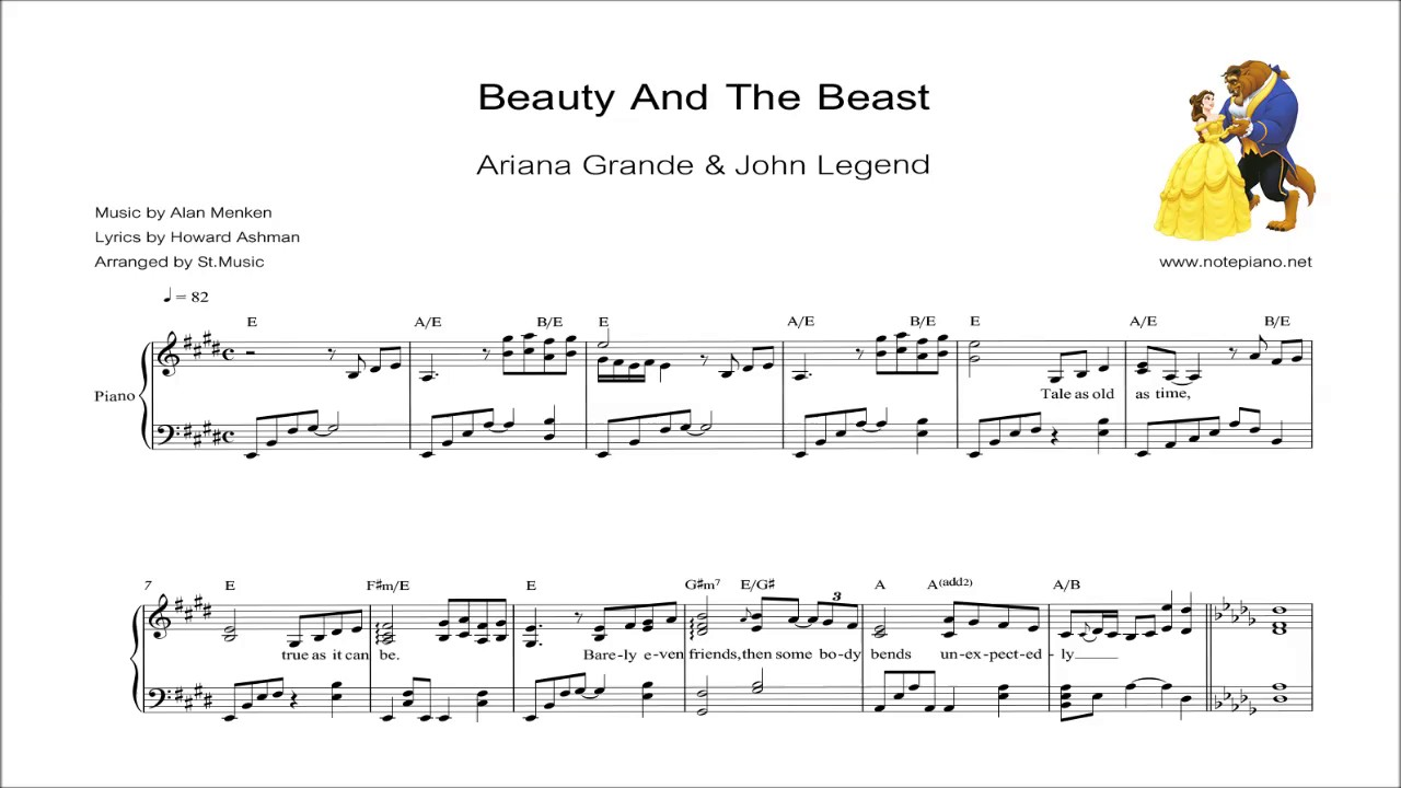 to play beauty and the beast intro on piano sheet music free printable witch for coloring coloring pages Beauty And The Beast Piano Sheet Music Free Printable