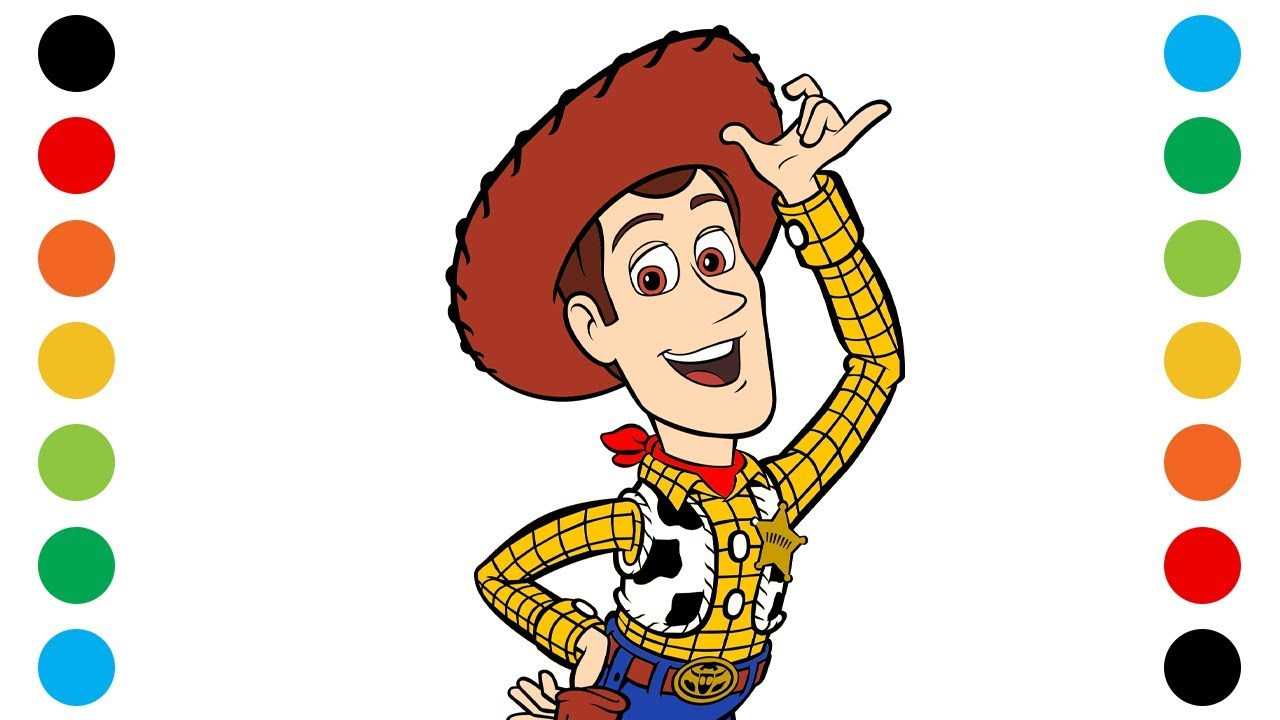 toy woody coloring for kids digital my color book printable adult fall paw patrol to coloring pages Woody Coloring Page