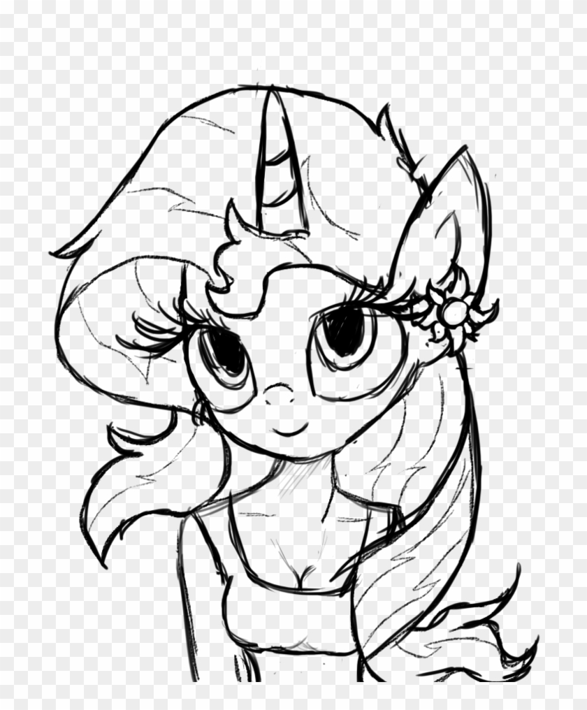 transparent library shimmer and shine clipart my little pony sunset coloring hd 805x991 coloring pages Sunset Shimmer Coloring Page