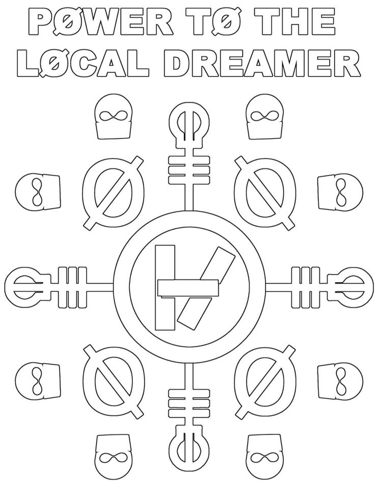 twenty one pilots coloring unicorn hkittens snowman thanksgiving images for kids blue coloring pages Twenty One Pilots Coloring Page